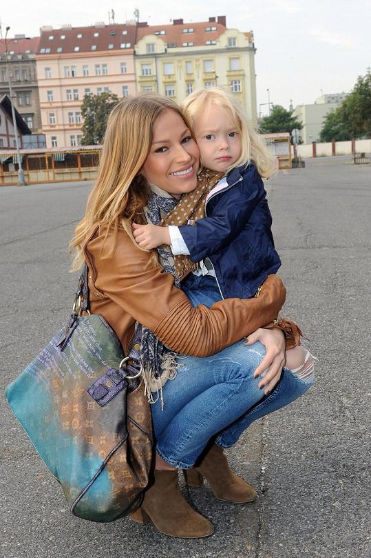 Petra Svoboda s dcerou Ráchel