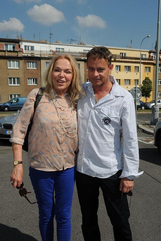Filip Renč s Dagmar Havlovou