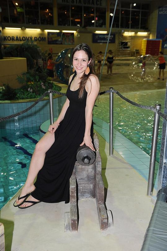 Veronika se prý už nemůže dočkat, až vyrazí se svým přítelem na dovolenou do oblíbeného Chorvatska.