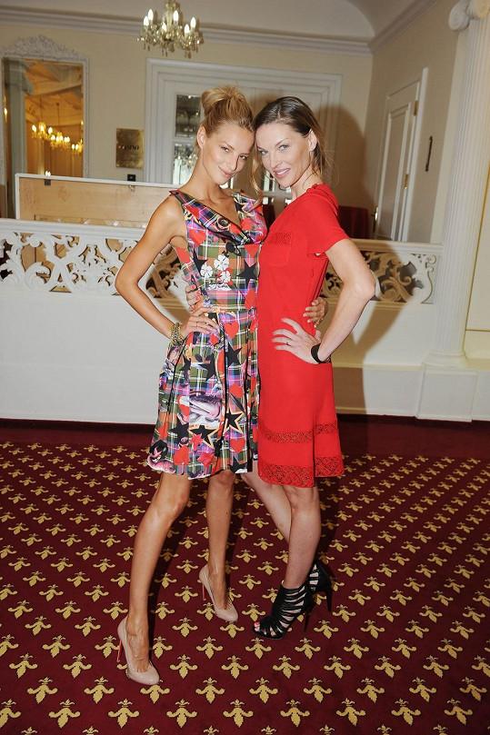 Míša a Pavlína radily finalistkám, jak obstát ve světě modelingu.