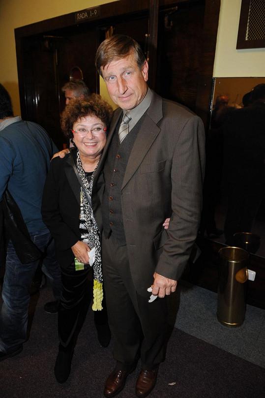 Václav Vydra s manželkou Janou Bouškovou