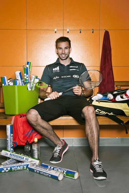 Badmintonista Petr Koukal zvítězil v boji s rakovinou varlat.