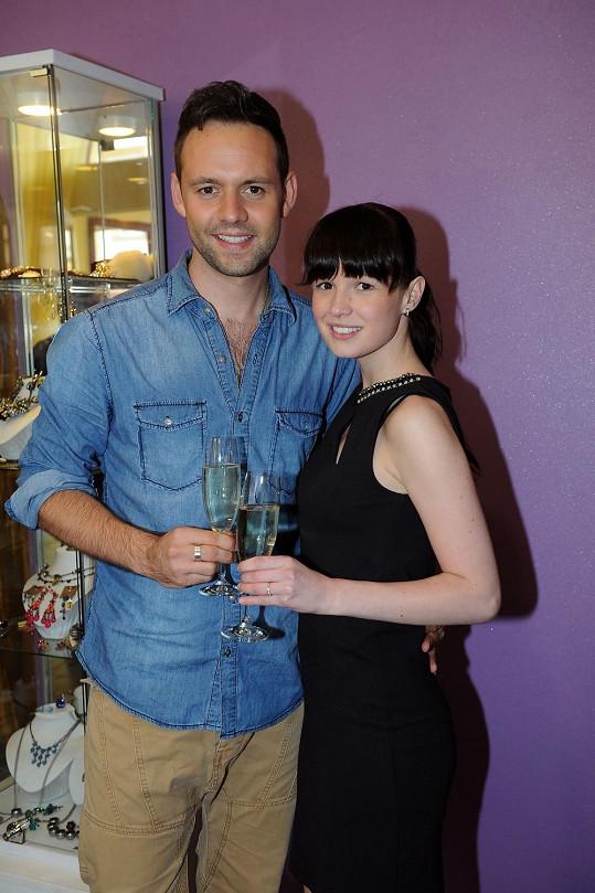 Michael Foret s přítelkyní Eliškou