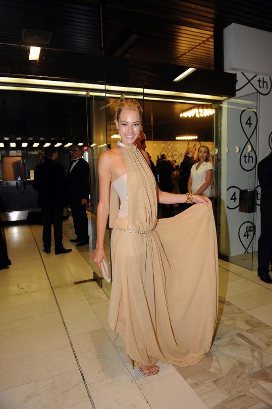 Zářila také modelka Simona Dvořáková.