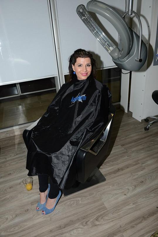 Andrea u kadeřníka