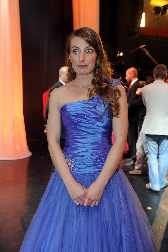 Anna Polívková předvede své taneční umění.