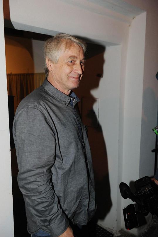 Josef Rychtář se usmíval jako sluníčko. Byl rád, že je o něj zájem.