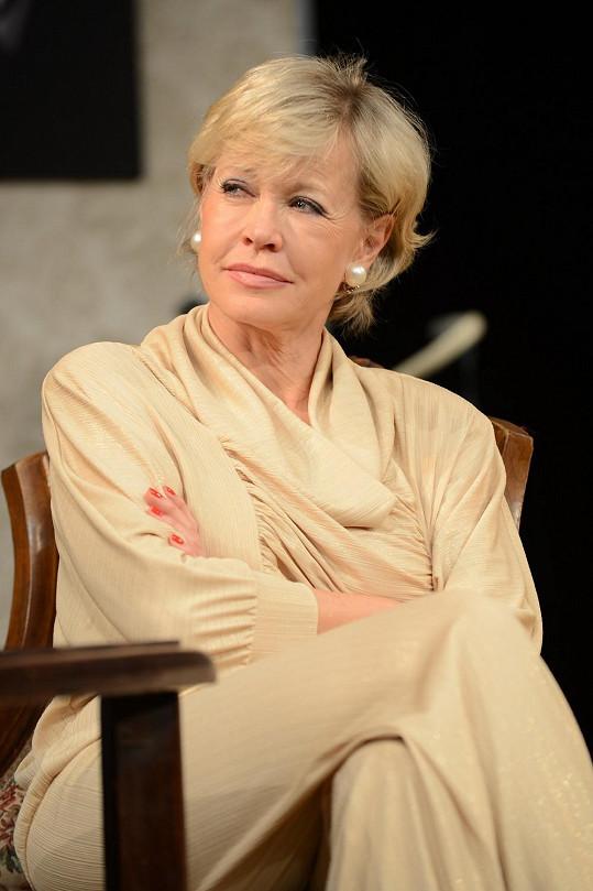 Jana v divadle hraje stejné role i dvacet let.
