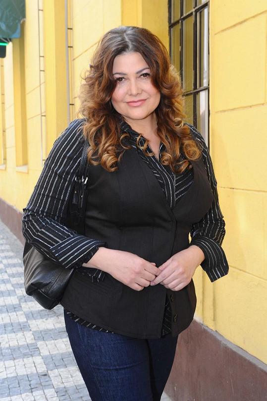 V květnu měla Ilona Csáková dole sedm kil.
