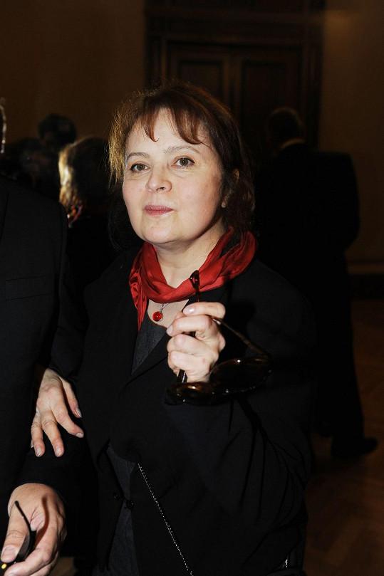 Libuše Šafránková má pořád pohled Popelky.