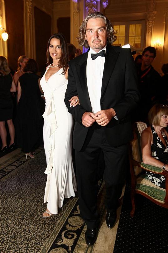 Terezie Dobrovolná s partnerem, miliardářem Davidem Beranem.