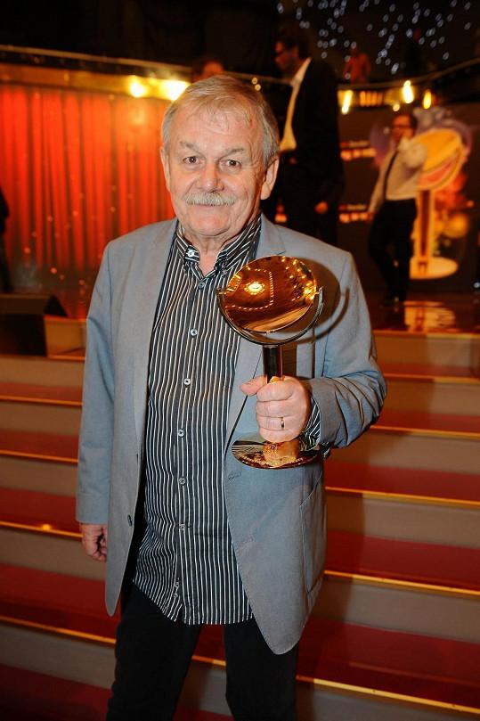 Karel Šíp TýTý nejen moderoval, odnesl si také cenu a stal se osobností televizní zábavy.