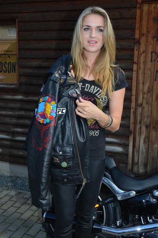 Rockerka Gábina Gunčíková