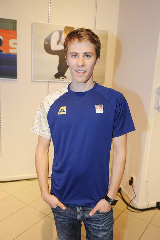 Michal Březina je šťastně zadaný.