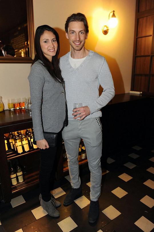 Martin s přítelkyní Denise Bengosi