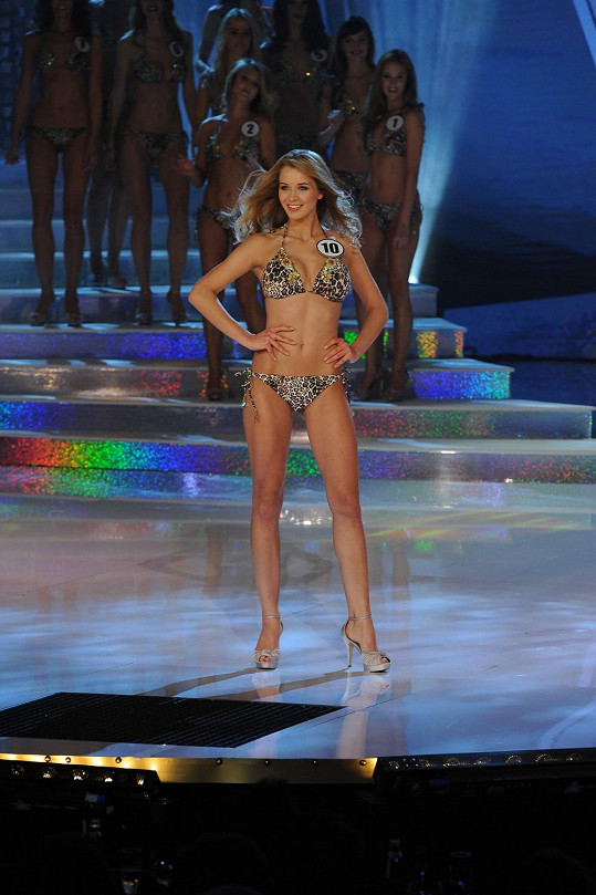 Česká Miss Gabriela Franková má nádherné sexy tělo.