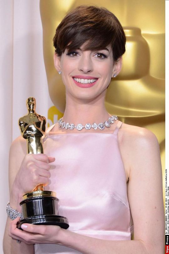 Anne se svým Oscarem