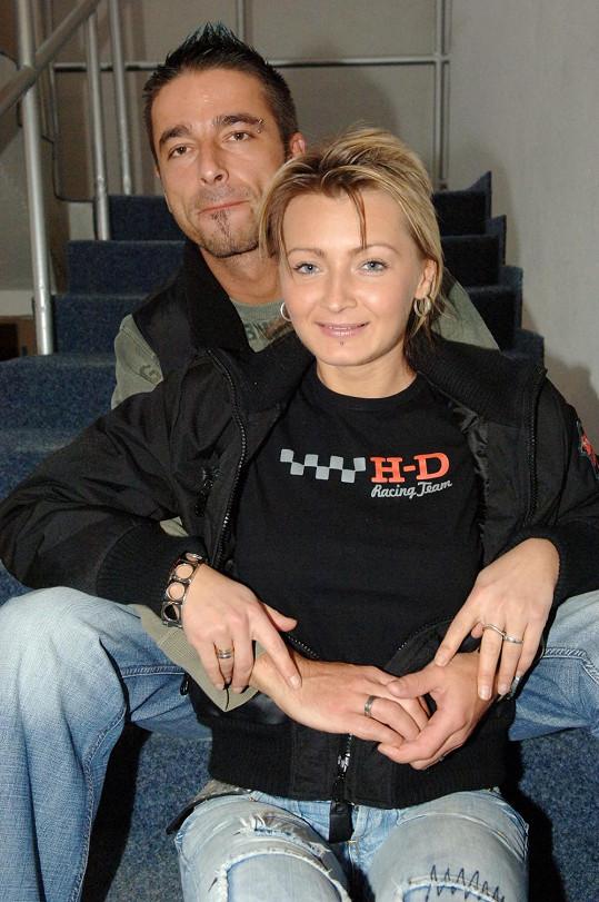 Tony Jalovec a Renata Kajdžas byli chvíli manželé.