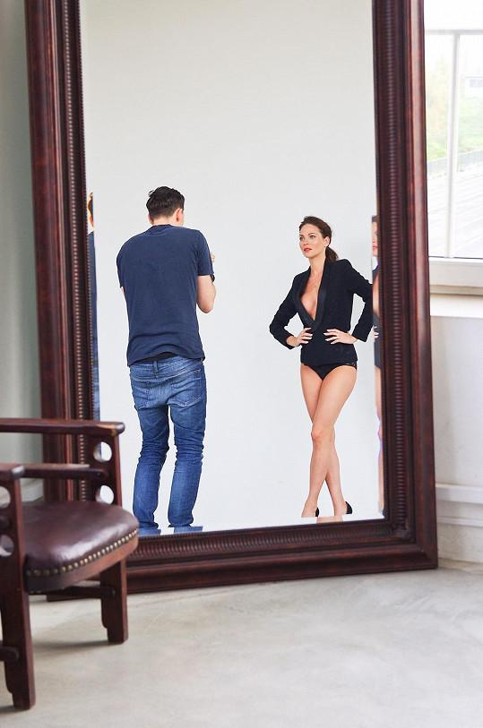Andrea s fotografem Benediktem Renčem