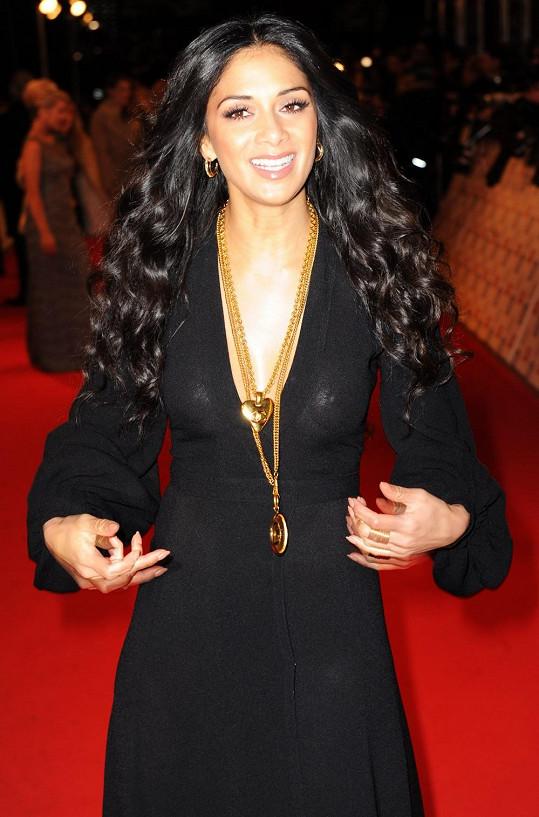 Nicole Scherzinger v londýnské O2 Aréně.