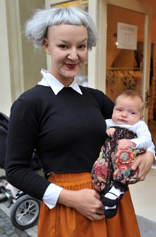 Léna Brauner s dcerou Jasmínou