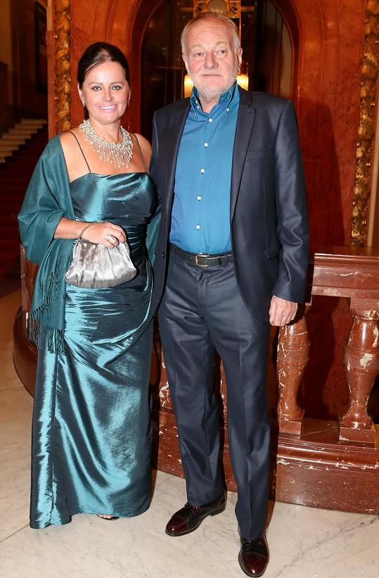 S manželkou Adrianou
