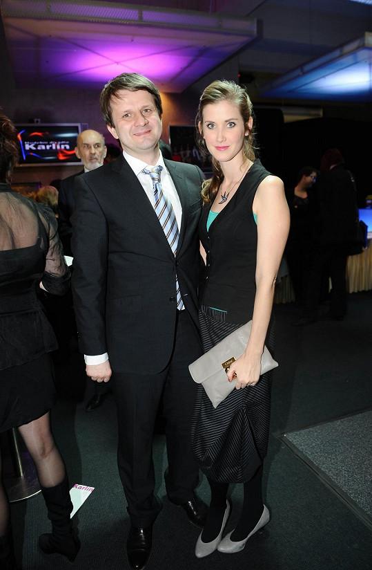 Jana Bernášková s manželem.