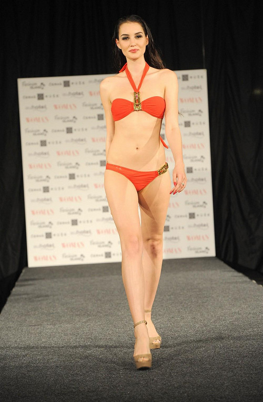 Sexy postavu předvedla i Kristýna Schicková, loňská finalistka České Miss.
