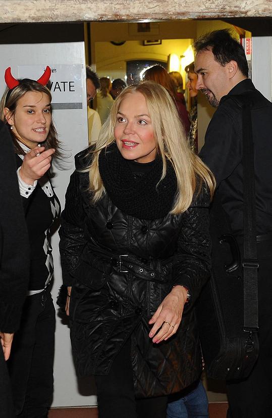 Dagmar Havlová si na akci vzala nenápadné oblečení.