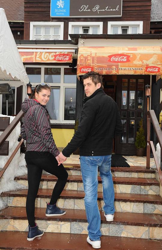Dominika s přítelem Tiborem randí pět měsíců.