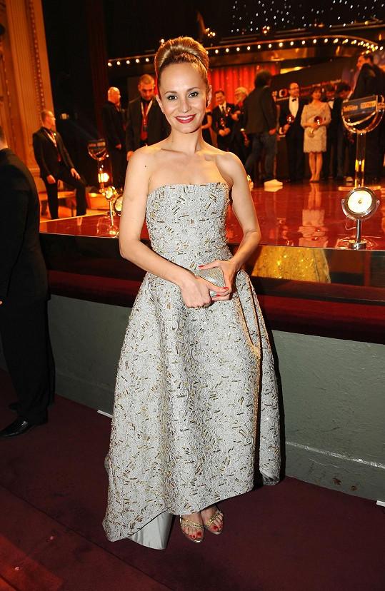 Monika Absolonová měla nejdražší šaty večera.