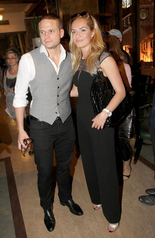 Ondra a Táňa dorazili na premiéru filmu Zakázané uvolnění.