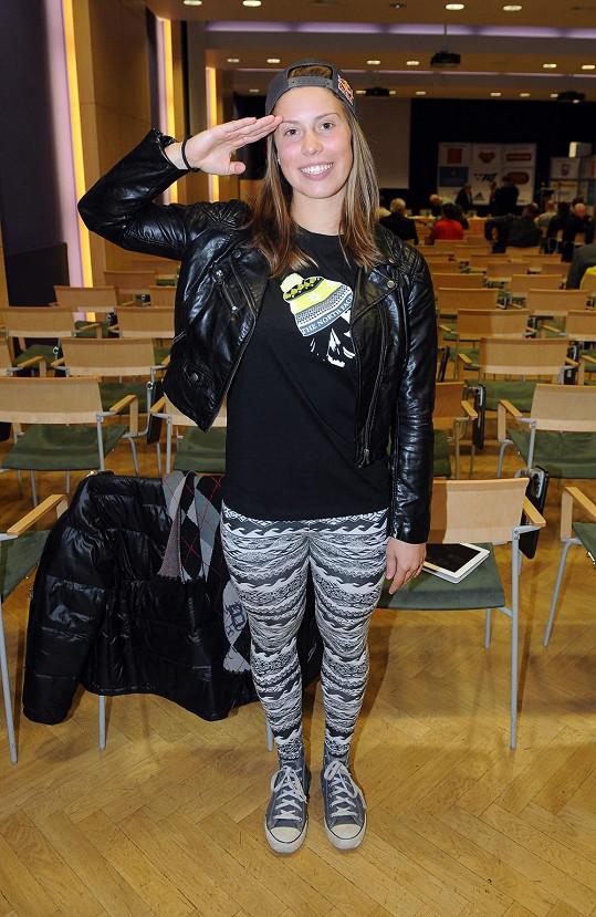 Eva Samková je od neděle olympijskou šampionkou.