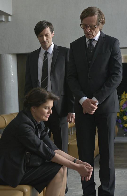 Jana Krausová a Karel Roden si zahráli také ve filmu Krásno.