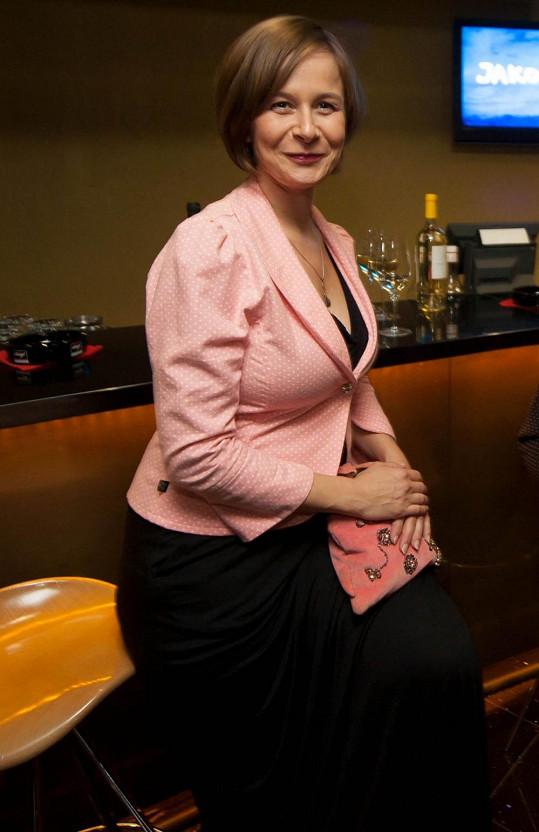 Petra Špalková famózně ztvárnila svoji roli ve filmu Jako nikdy.