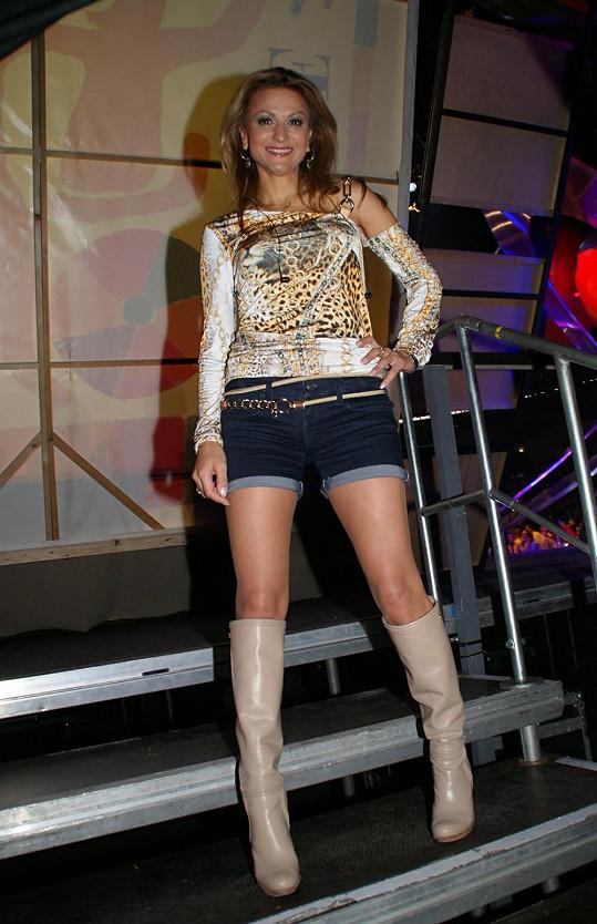 Yvetta Blanarovičová ukázala v sexy kraťáskách své božské nožky.