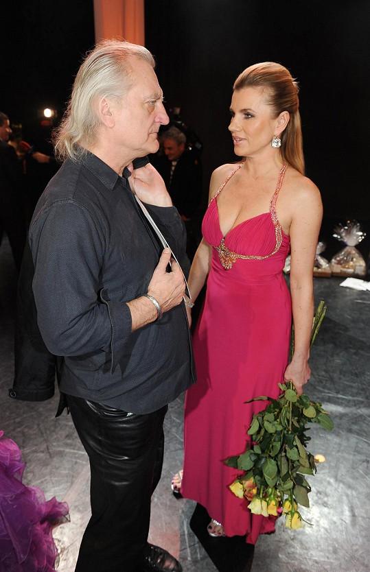 Bořek Šípek s expřítelkyní Leonou Machálkovou se potkali na akci Miss Expat.