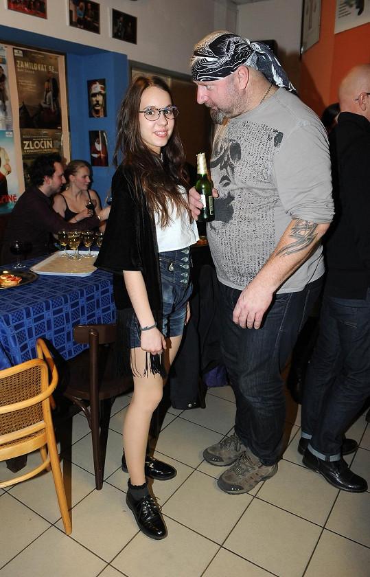 Jiří Zonyga s muzikálovou kolegyní Michaelou Doubravovou