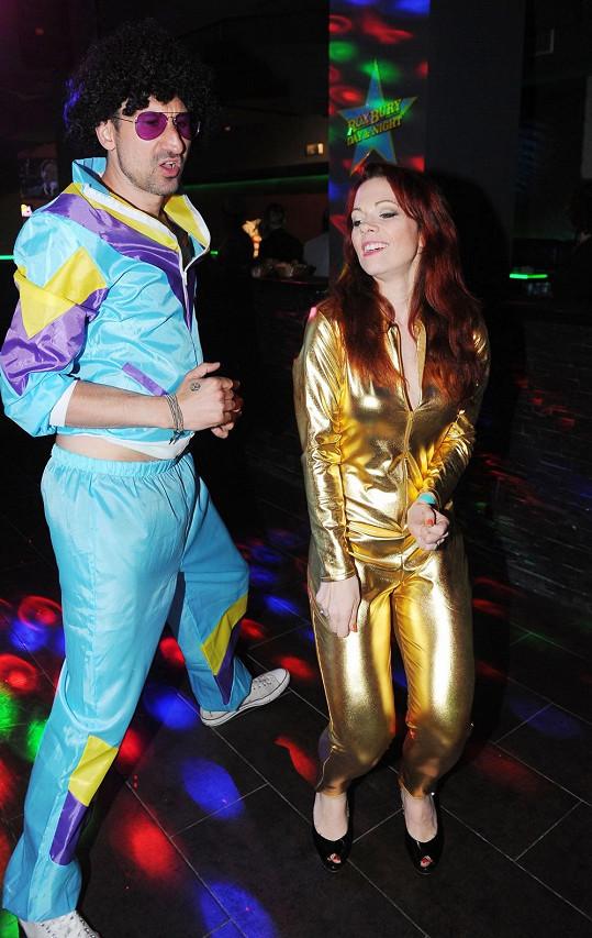 Míša Nosková na párty v novém pražském klubu, který si otevřel DJ Uwa.