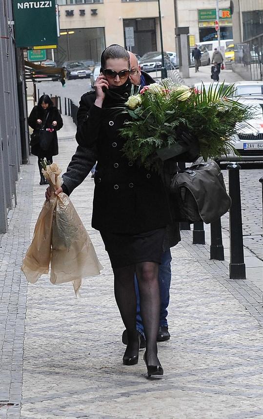 Manželka Vladimíra Čecha Milada.