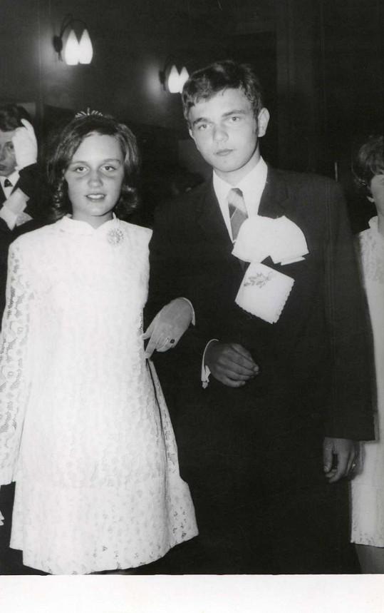 V bouřlivém roce 1968 Petra absolvovala taneční.