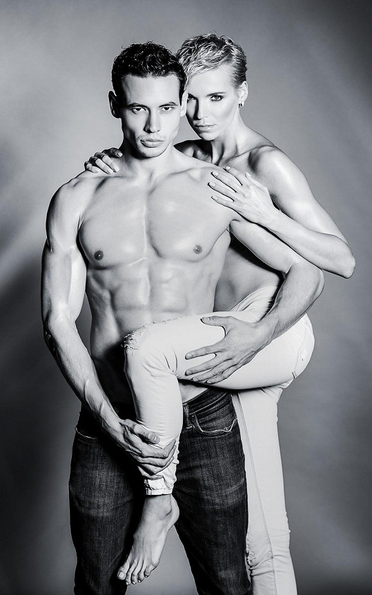 Hana Mašlíková a Michal Gajdošech.