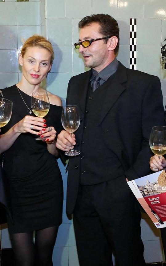 Ondřej Vetchý s manželkou Irenou