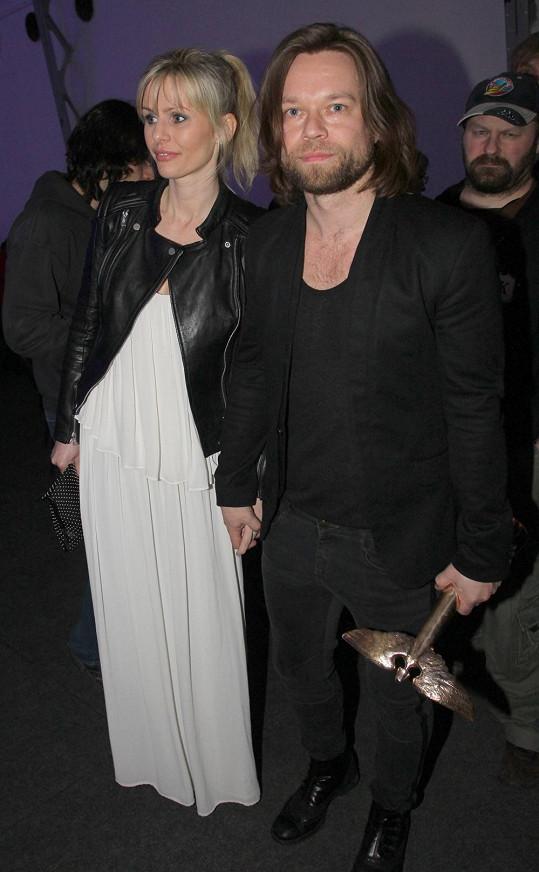 Richard Krajčo se rozvádí s manželkou Martinou.