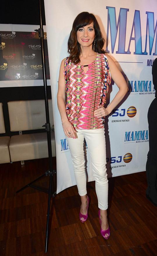 Daniela Šinkorová moderuje VIP zprávy a také dostala hlavní roli v novém muzikálu.