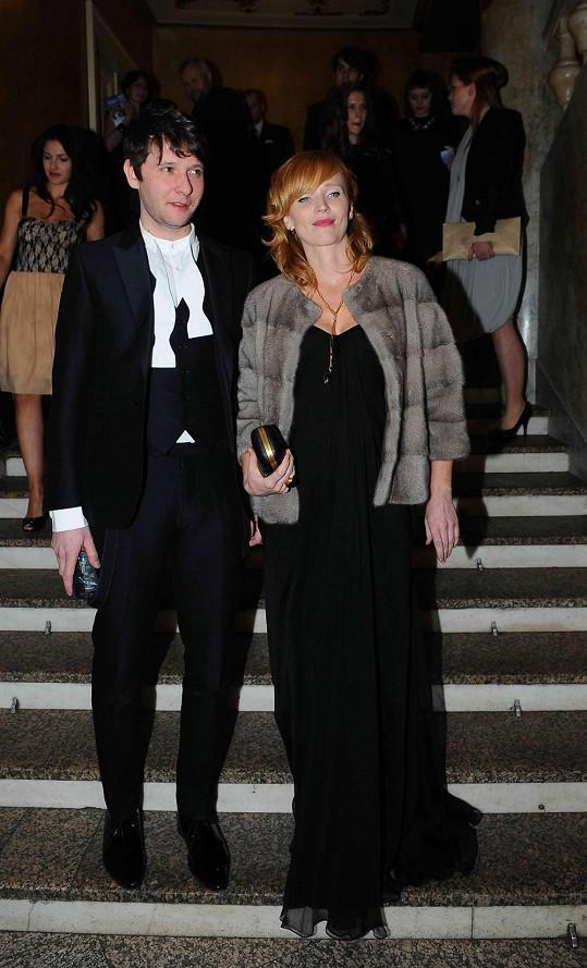 Aňa Geislerová se po boku manžela Zdeňka Janáčka objevila v březnu na předávání cen Český lev.