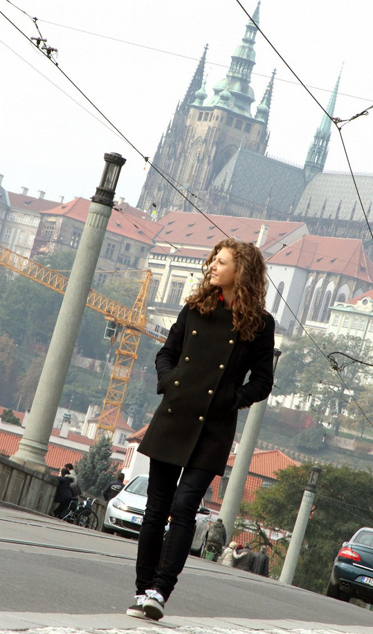 Klip se točil v centru Prahy.