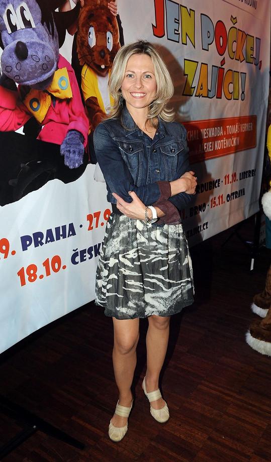 Kateřina Beránková bude už ve třetí show na ledě.