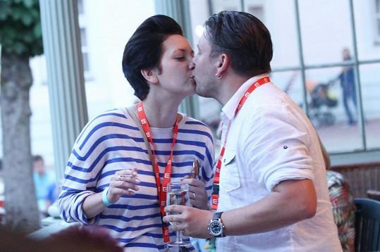 Matěj Ruppert a jeho láska Tereza se před dvěma týdny zasnoubili.