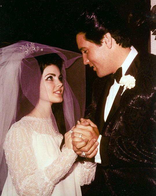 V roce 1967 se Priscilla provdala za Elvise.